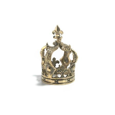 Figura Corona Brass Grande