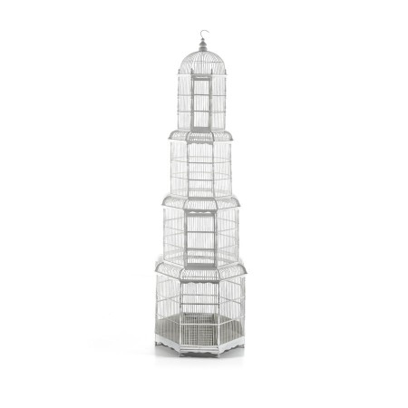 Figura Bird Cage White Wash
