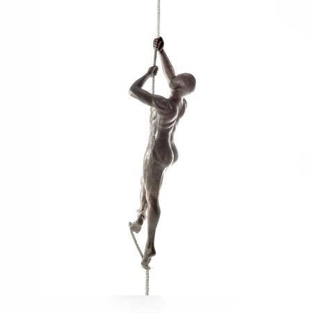 Figura Climbing aluminio y...