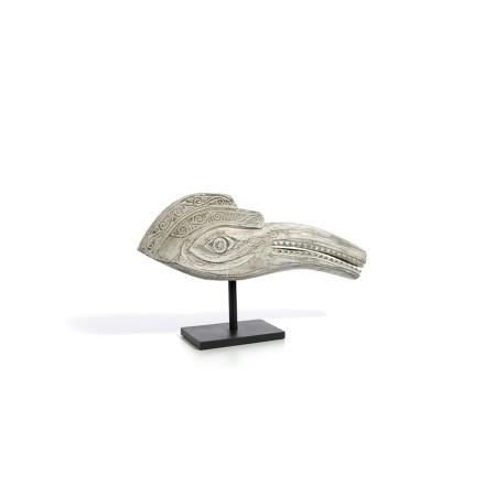 Figura Cabeza Pájaro